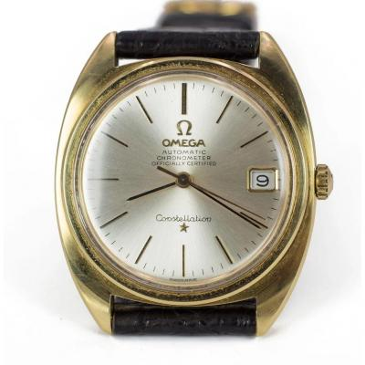 Automatic Omega Constellation With Date, 60s