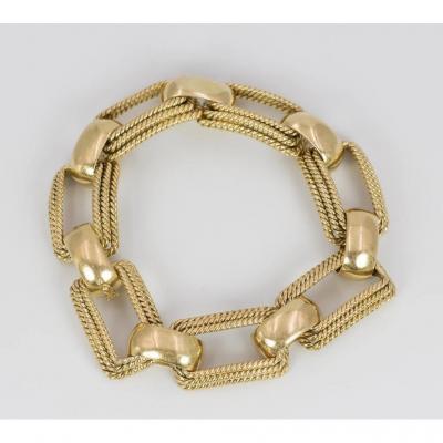Bracelet En Or 18 Carats- gr. 70
