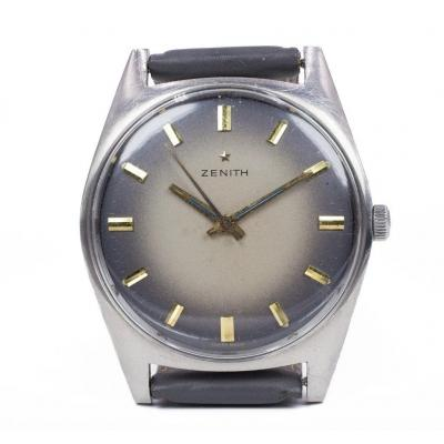 Vintage Zenith Steel Watch, 1970