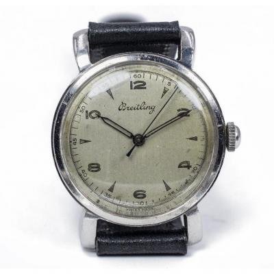 Montre Breitling Vintage En Acier, 50
