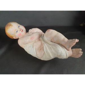 Bambinello, Sculpture Napolitaine Du XIXe Siècle