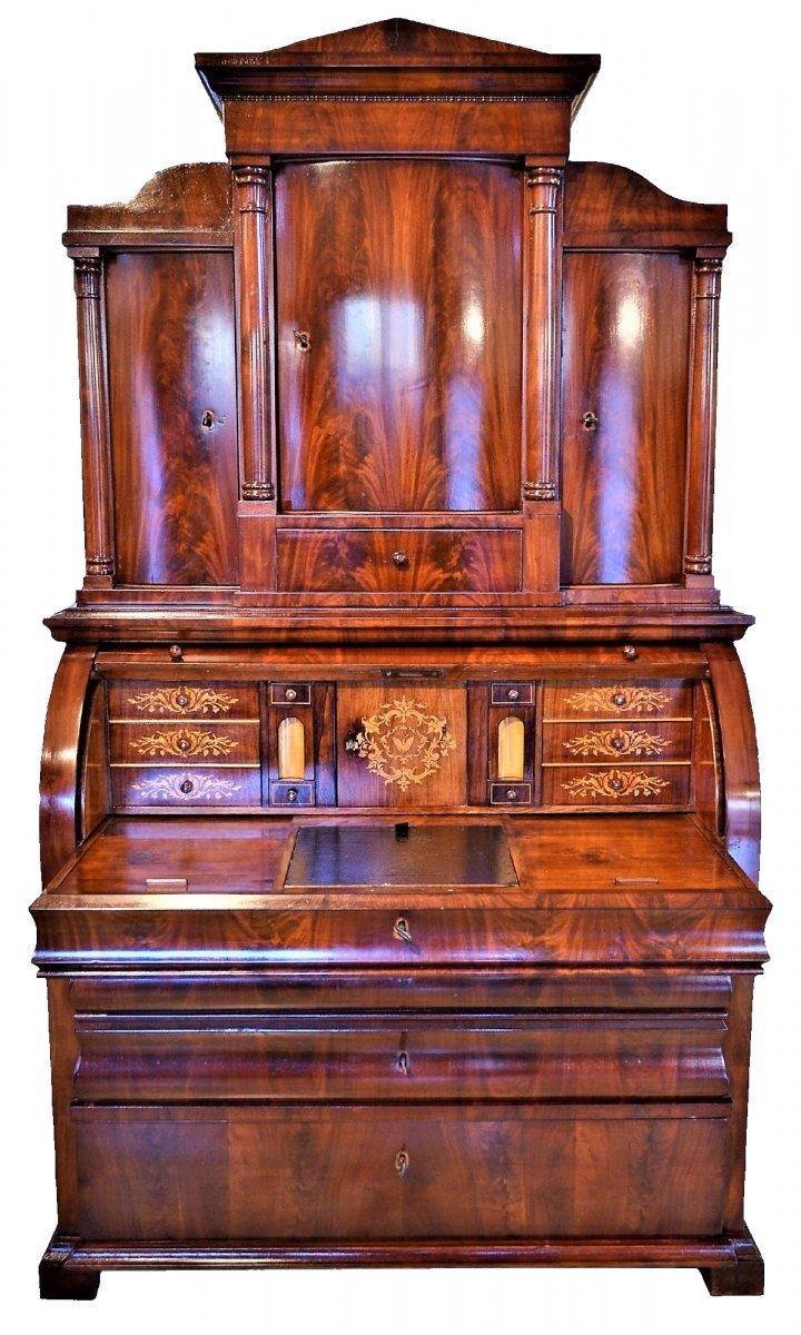 Important Office-secretary Biedermeier, Austria 1820/30