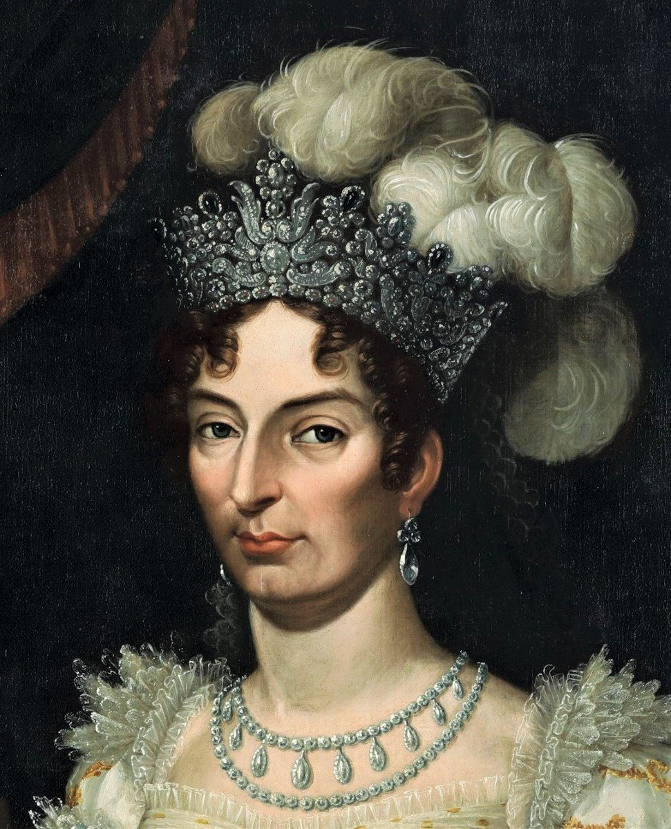 La  Duchesse d' Angouleme, Fille De Louis XVI Et Marie-Antoinette. -photo-1