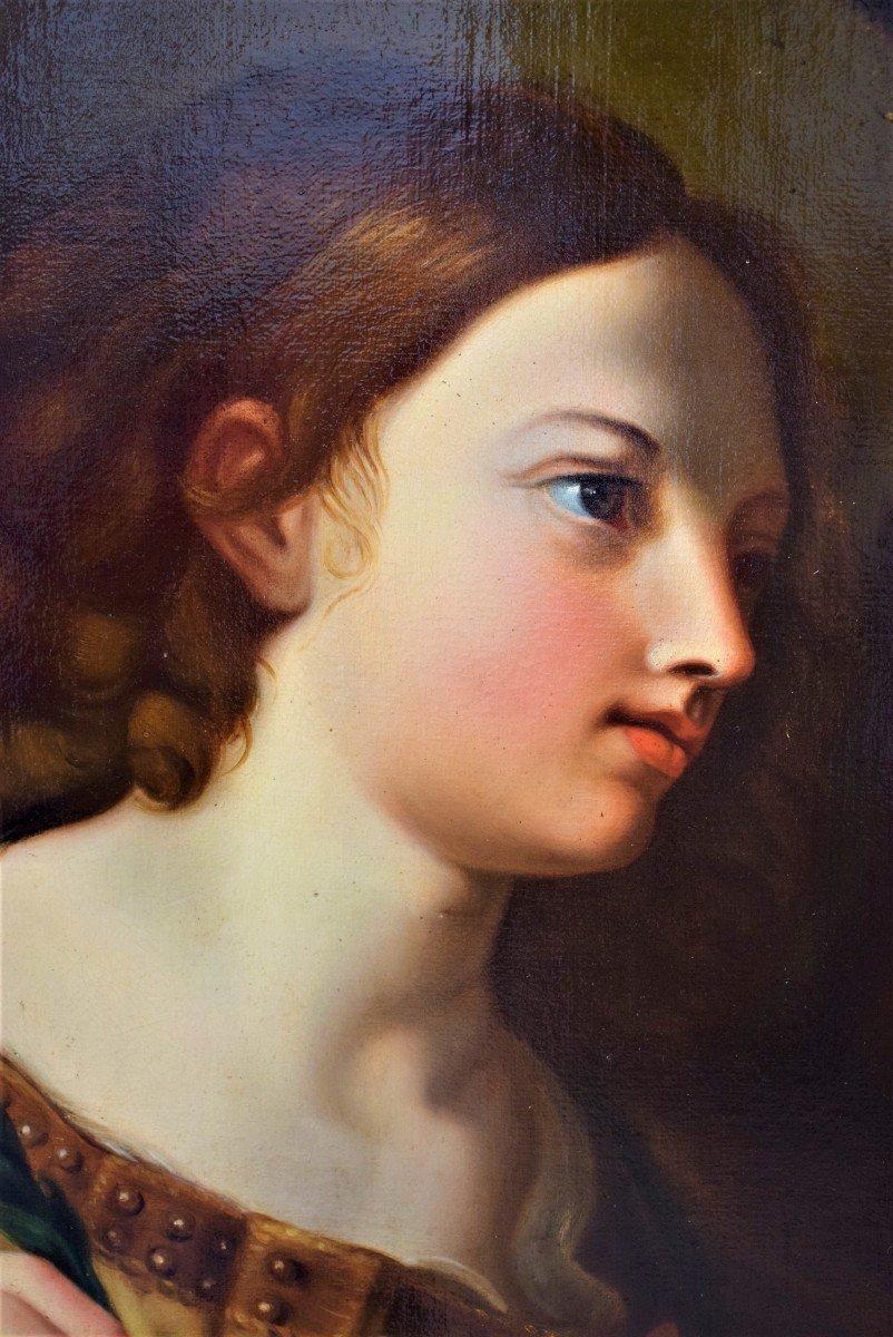 l'Ange De l'Annonciation   Elisabetta Sirani   école émillienne XVIIe-photo-1