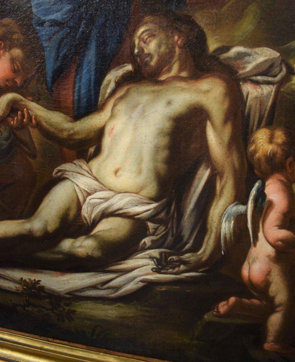 Lamentation De La Vierge Avec La Madeleine Sur Le Christ - Italie XVIIème-photo-4