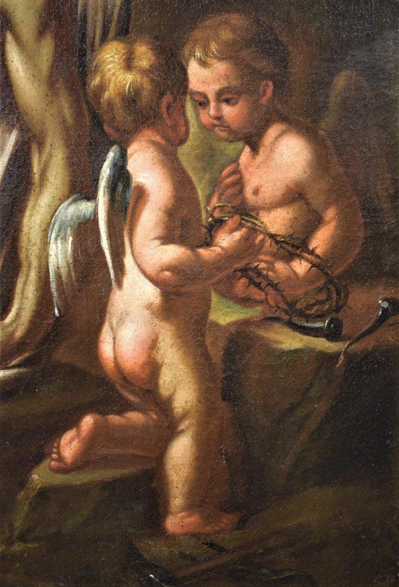 Lamentation De La Vierge Avec La Madeleine Sur Le Christ - Italie XVIIème-photo-2