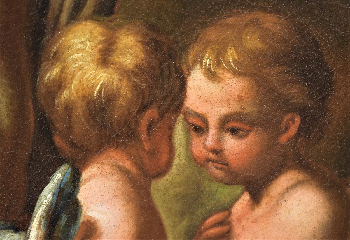 Lamentation De La Vierge Avec La Madeleine Sur Le Christ - Italie XVIIème-photo-5