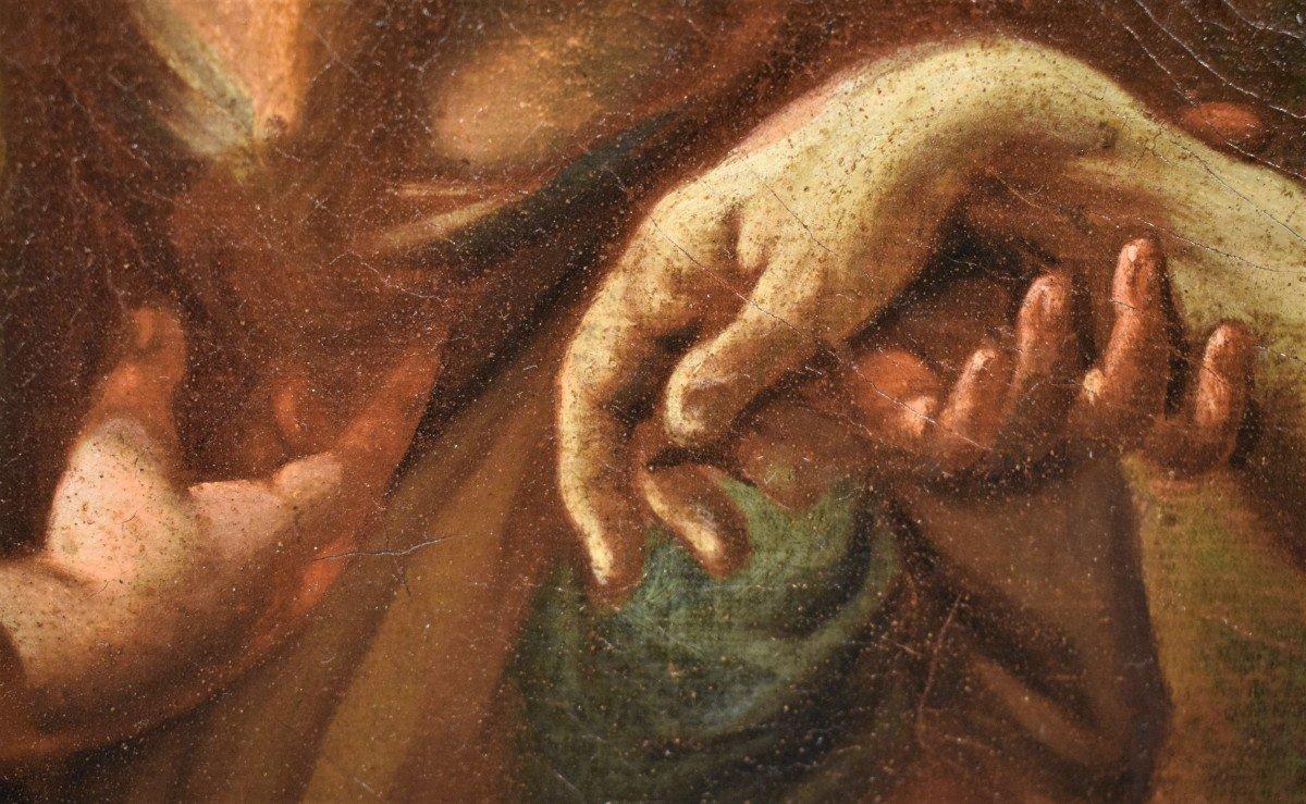 Lamentation De La Vierge Avec La Madeleine Sur Le Christ - Italie XVIIème-photo-7