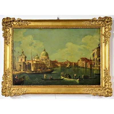 """"""" Venezia""""  le Canal Grande et l'Eglise de la Santè"""