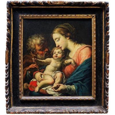 """""""Sainte Famille""""  Pietro Liberi - ècole Venitienne XVIIéme"""