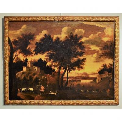 """""""large Landscape With The Coachman Of The Sun"""""""
