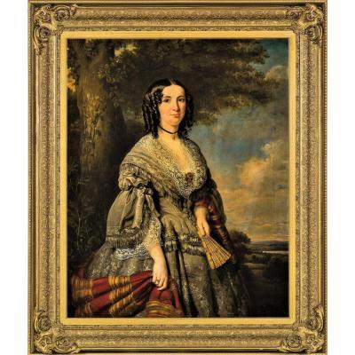 """""""portrait Of Princess Kotschoubey"""""""