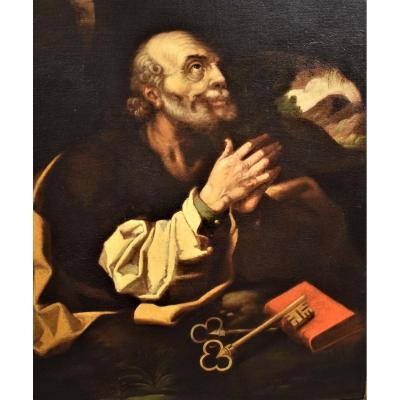 """""""Saint Pierre""""  Hendrick Goltzius  fin de XVIème siecle"""