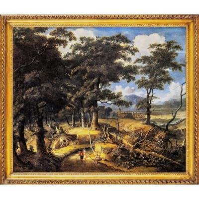Grand Paysage Flamand - XVIIe Siècle