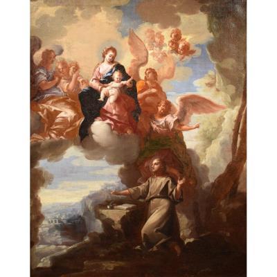 Saint Jean l' Evangeliste à Pathmos écrit Le Livre De l'Apocalypse