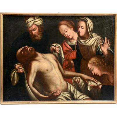 """the Lamentation Of Christ"" Venetian School  !&th Century"