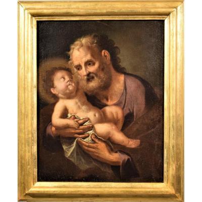 Saint Joseph Avec l' Enfant