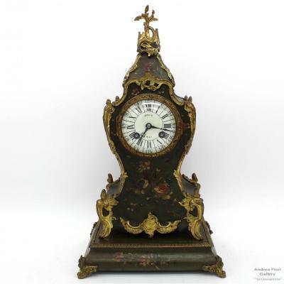 Horloge Pendule Cartel d'époque Napoleone III - du 19ème siècle
