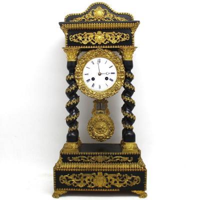 Antique Napoleon III Pendulum Clock  (h.54) – 19th