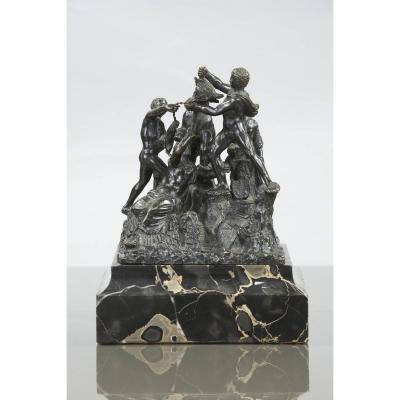Toro Farnèse, Sculpture En Bronze Du XIXe Siècle