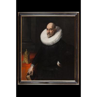 Portrait d'Un Gentilhomme Avec Gorgere