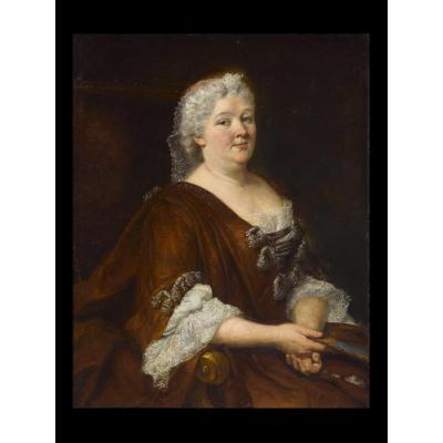 Portrait De Marie Thérèse D'autriche, XVIIIe Siècle