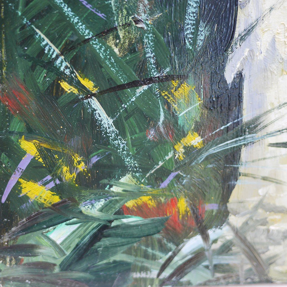 Tableau Nature Morte Champignons Amanita Muscaria - Carl Braml-photo-4