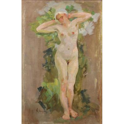 Wilhelm Christens – Nu Féminin - 1920