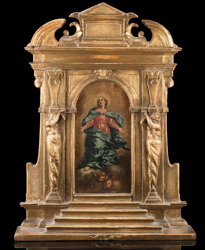 Virgin In Assumption Debut Eighteenth With Original Frame