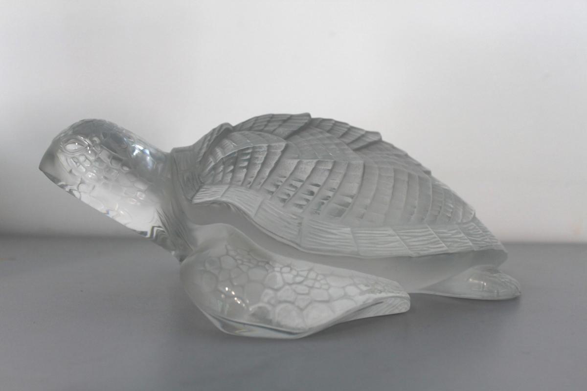 Tortue Signé Lalique
