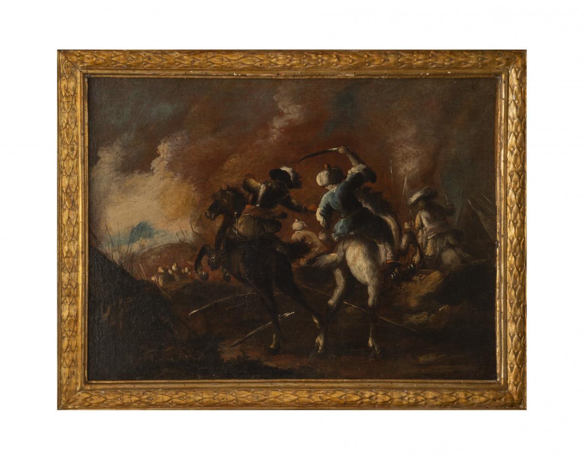 Battle Matteo Stom (1643-1702)