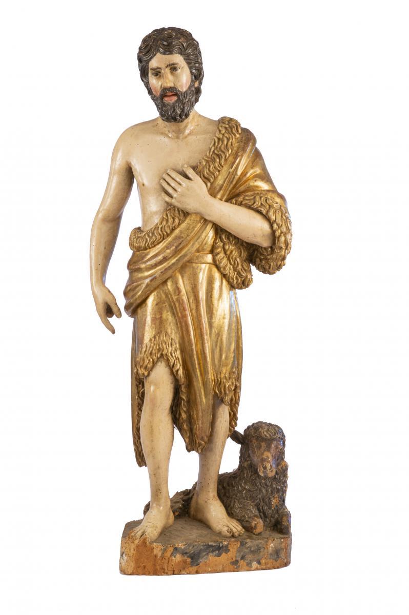 San Giovanni Battista Italie Fin Du XVIIe Siècle