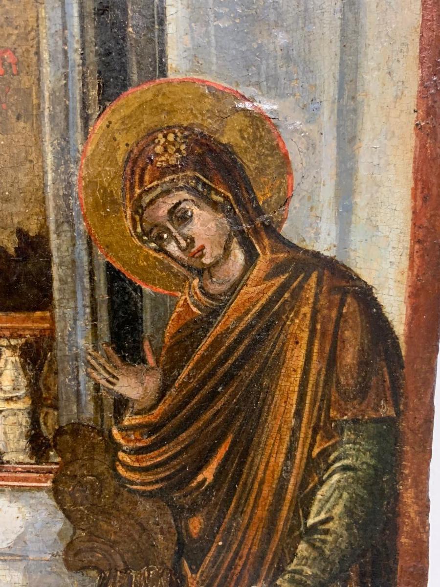 Icône Grecque 17ème Siècle