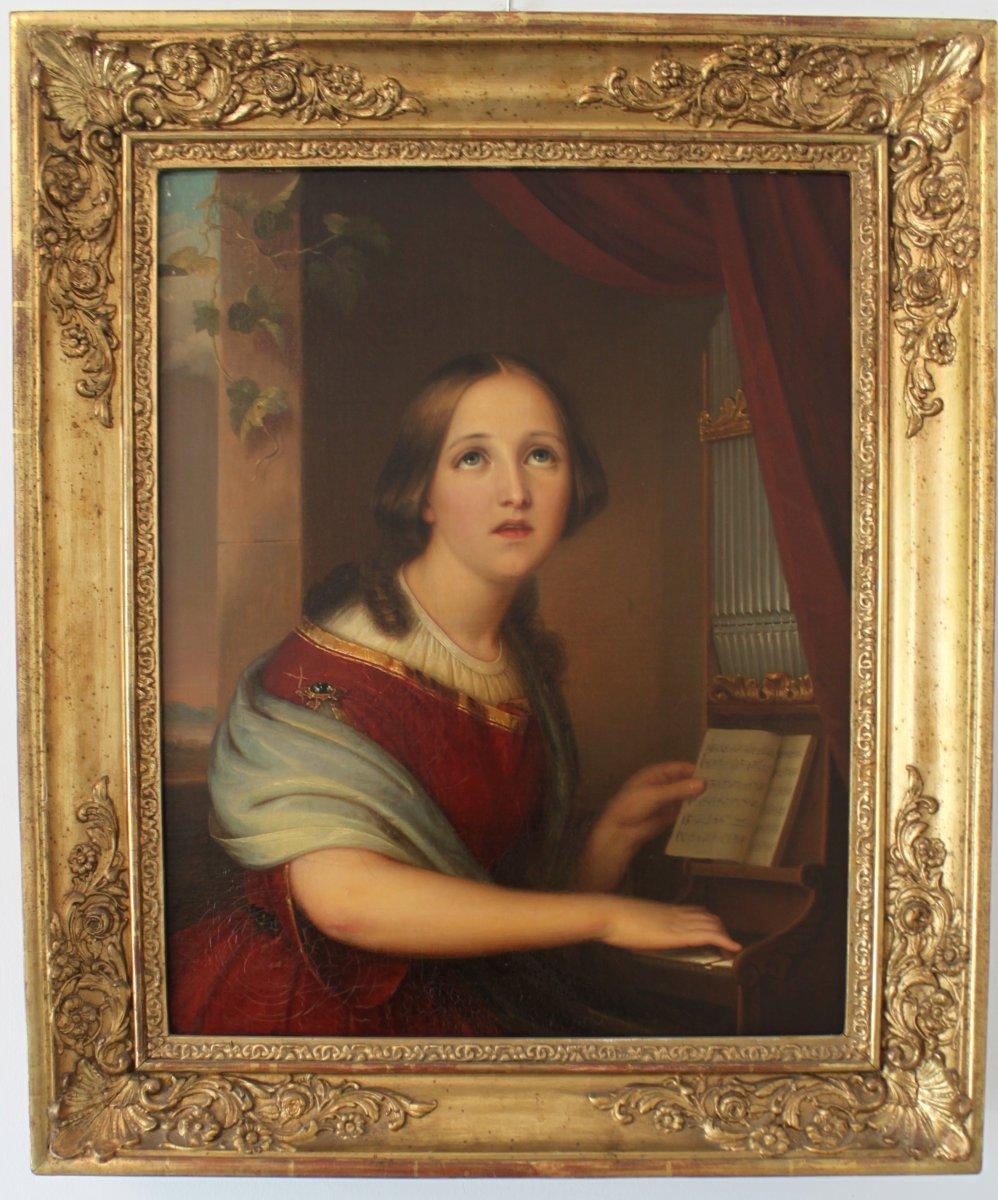 Saint Cecilia XIXth Century