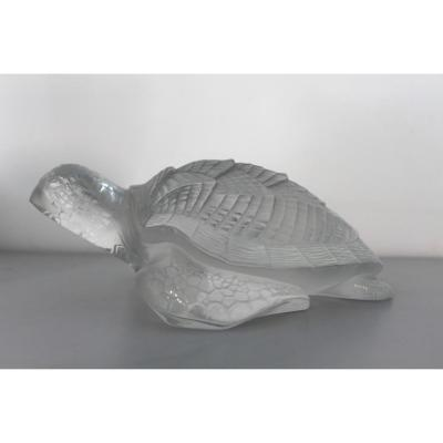 Turtle Signed Lalique