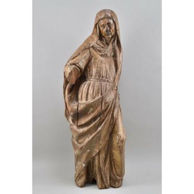 Wooden Sculpture From The XVIth Century