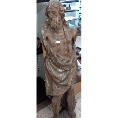 Grande Sculpture De Saint-jean Du XVIe Siècle
