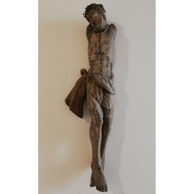 Wooden Christ Of The 15th Century