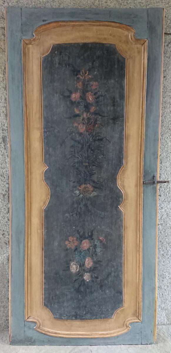 Porte Italienne Peinte XVIIIe Siècle