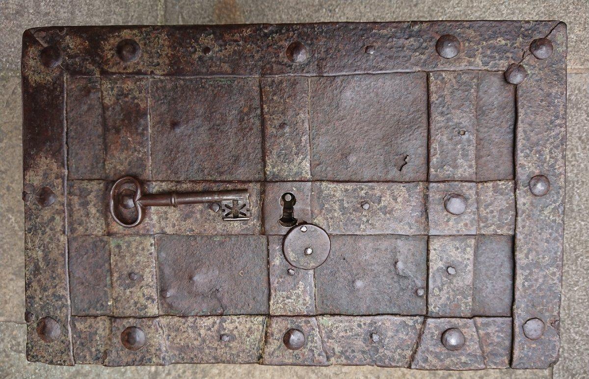 Coffre Fort De Nuremberg Début XVIIIe Siècle
