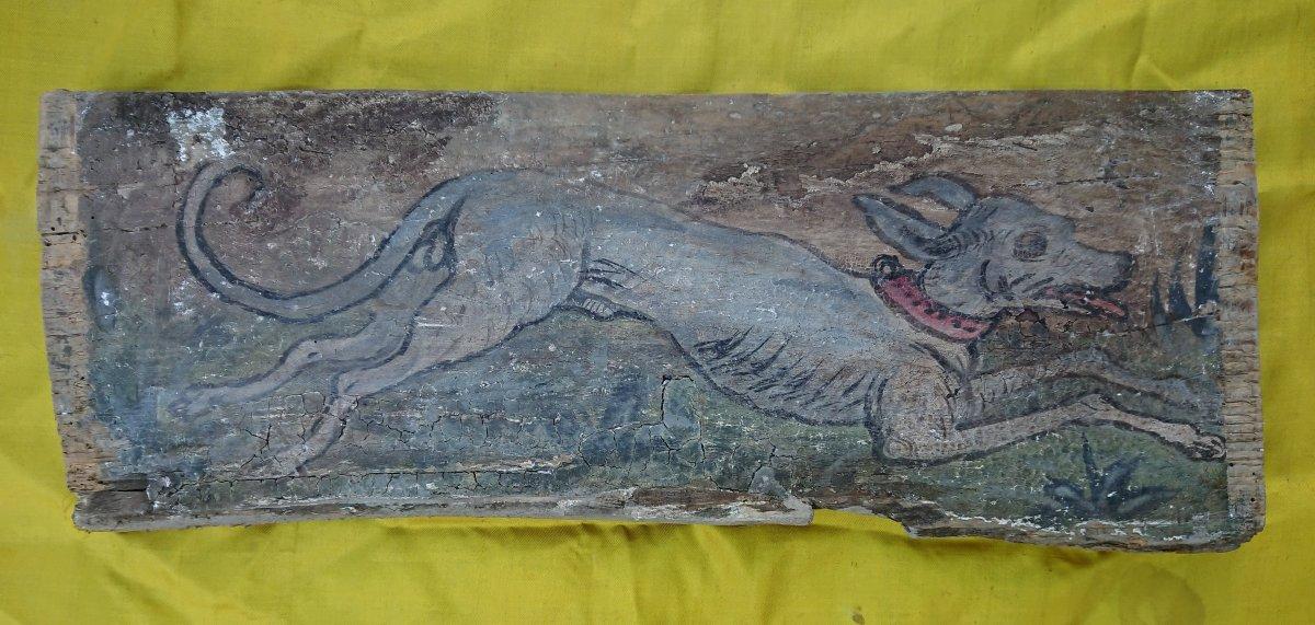 Panneau De Plafond Italien XVIe Siècle