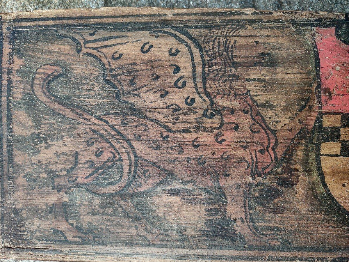 02 Panneaux En Bois Peint Renaissance Italienne-photo-3