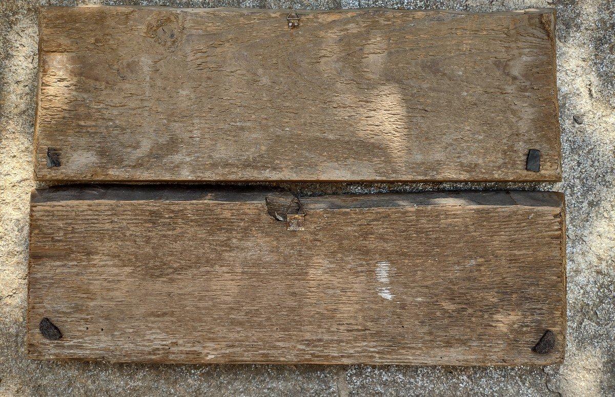 02 Panneaux En Bois Peint Renaissance Italienne-photo-4