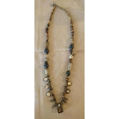 Nineteenth Century Chaman Necklace