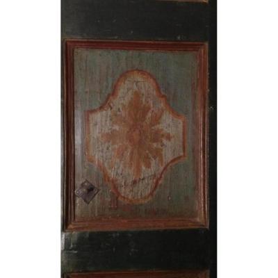 Painted Italian Door XVII Century