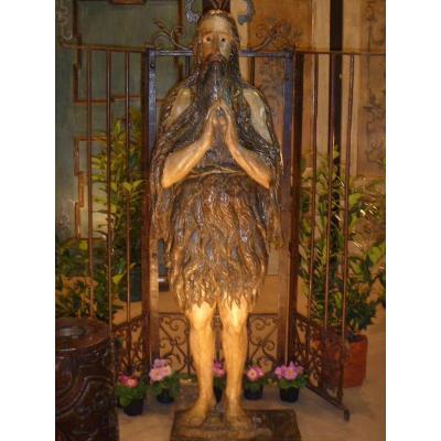Statue En Bois XVIe Siècle