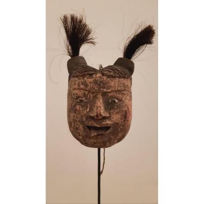 Head Wooden Marionette Ethnicity Lanna