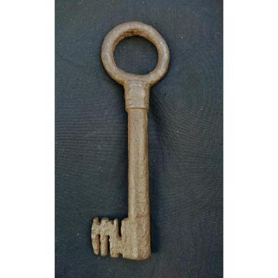 Wrought Iron Key XV Century