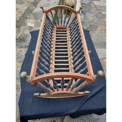 Rocking Cradle In Boia Tour And Print Nineteenth Century