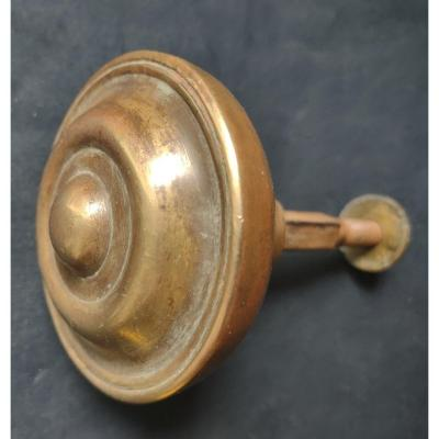 Brass And Wrought Iron Door Handle